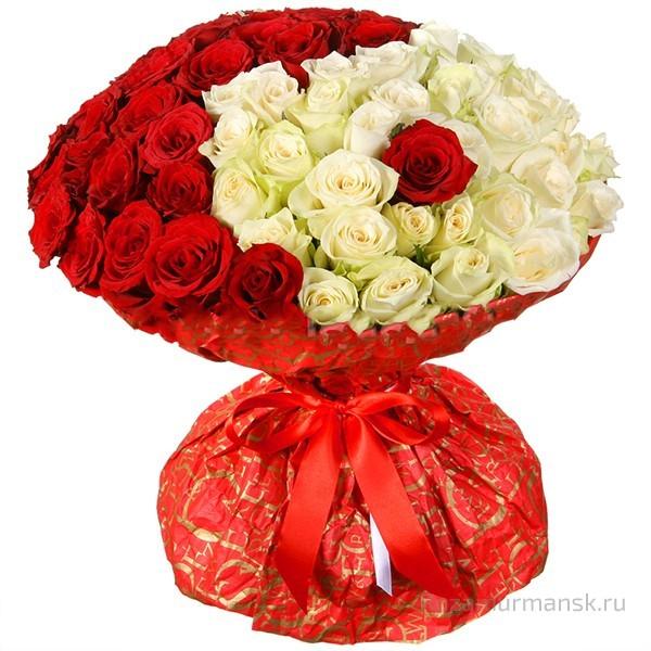 Купить розы в мурманске заказ цветов в кирове с доставкой недорого