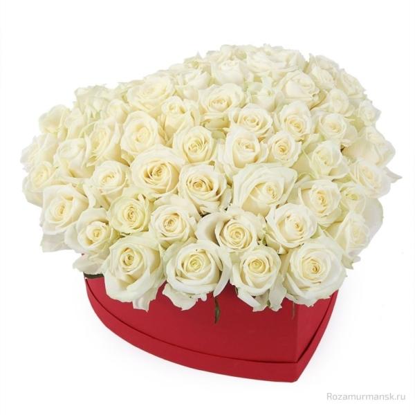 Коробка «Белое сердце»